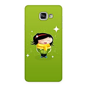 Special Laughing Cute Girl Print Back Case Cover for Galaxy A7 2016