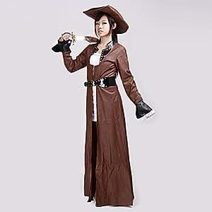 Amazon.com - Luy Tough Women Pirate Halloween Costume (3 Pieces) -