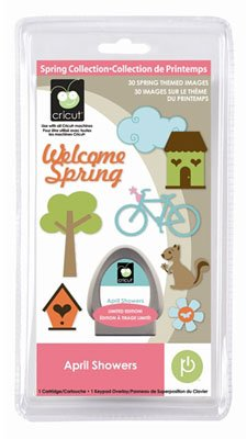 Cricut Cartridge, April Showers