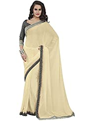 Subhash Sarees Printed Saree - B00XLE1OG6