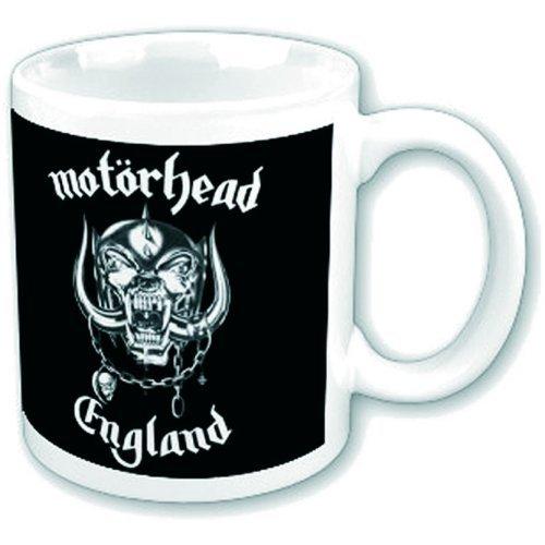Motörhead - Tazza con logo della band, resistente, in confezione regalo