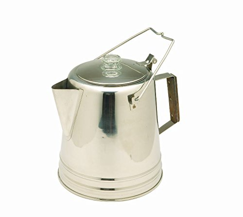 Texsport Stainless Steel Coffee Pot Percolator for Outdoor Camping (Large Percolator Coffee Pot compare prices)