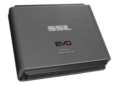 Ssl Evo1800.2 Evo 1800-Watts Full Range Class A/B 2 Channel 2-8 Ohm Stable Amplifier With Remote Subwoofer Level Control