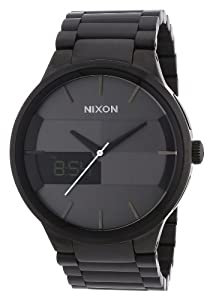Nixon Spencer Watch - Men's All Black, One Size