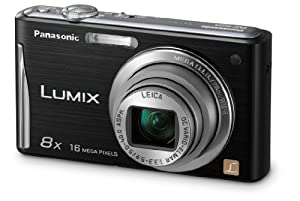 Panasonic DMC-FH25K 16.1MP Digital Camera with 8x Wide Angle Image Stabilized Zoom and 2.7 inch LCD (Black)