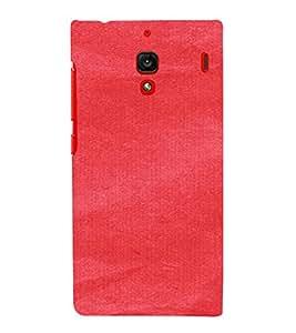 PrintVisa Red Canvas Paper Design 3D Hard Polycarbonate Designer Back Case Cover for Xiaomi Redmi 1S