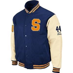 Syracuse Orangemen Varsity Letterman Jacket by SportShack INC