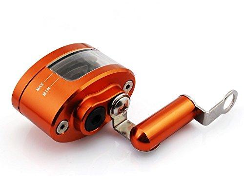 Motorrad-Teile universelle CNC Billet Aluminium Motorrad orange Bremskupplung Bremsflüssigkeitsbehälter Tasse Hauptbremszylinder halterung fit für 2007 2008 2009 Yamaha R6S CANADA VERSION