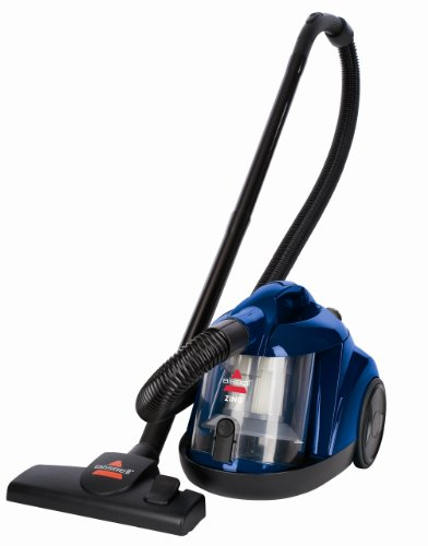 Learn More About BISSELL Zing Bagless Canister Vacuum, Blue
