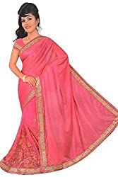 Aakriti Fashion Women's Georgette Saree(8043_Gazari)