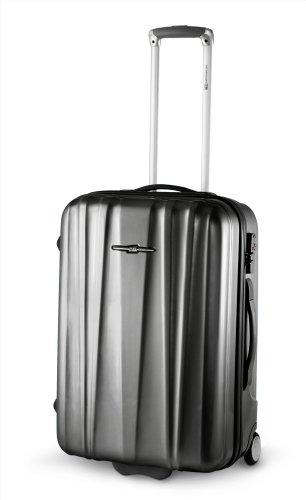 Trolley da bagaglio-54cm/2,8kg.--estremamente leggero-Italiana. Design-Ciak Roncato-argento grigio