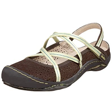 Jambu Women's Odyssey Sport Sandal,Brown,9.5 M US