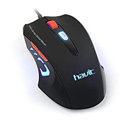 HV-MS679 USB Mouse USB Optical Mouse Gaming Mouse