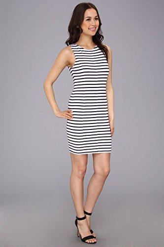 Sanctuary Clothing Sanctuary Clothing Women's Spring Bodycon Dress, White/Navy Stripe, Medium B00G7DXH5Y