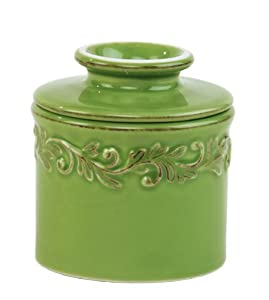 Antique Butter Bell Crock, Vert Green