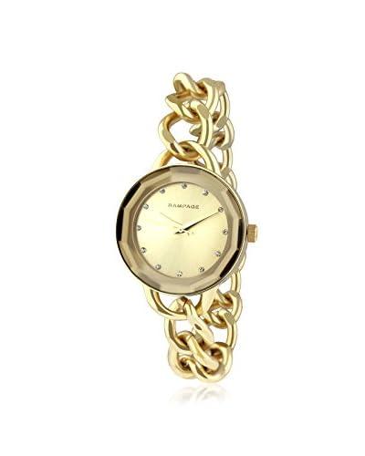 Rampage Women's RP1032GD Bracelet Band Gold-Tone Alloy Watch