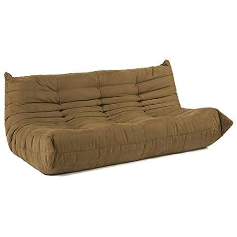 Ligne Roset Style Togo Downlow Sofa - Mocha