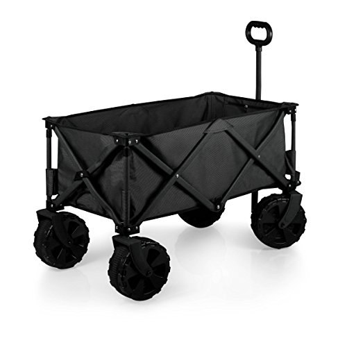 picnic-time-collapsible-adventure-wagon-with-all-terrain-wheels-black-gray