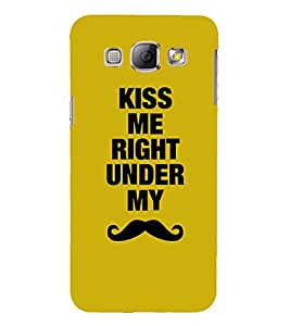 PrintVisa Cool Boy Quotes 3D Hard Polycarbonate Designer Back Case Cover for Samsung Galaxy A8