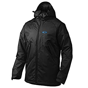 Oakley Men's Brigade Insulated Jacket, Jet Black, Medium