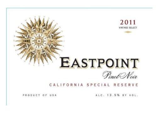 2011 Eastpoint Pinot Noir California Special Reserve, 750 Ml