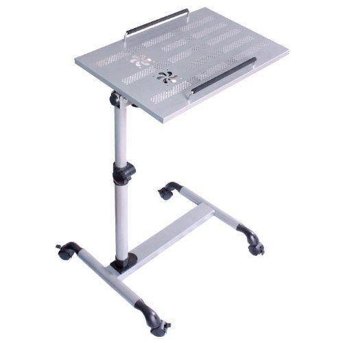 meilleur prix table de lit avec plateau inclinable pour ordinateur portable hauteur assiste couleur argent fbtn sil