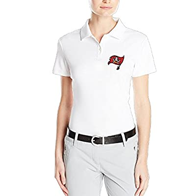 AUGU Women Tampa Bay Duskulleers Polo Shirt White