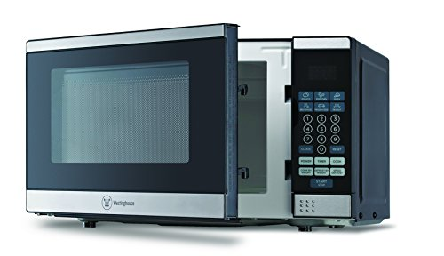 Westinghouse WCM770SS 700 Watt Counter Top Microwave Oven, 0.7Cubic Feet, Stainless Steel Front, Black Cabinet (Small Microwave Oven Stainless compare prices)