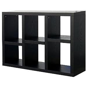 Amazon Com Donnieann Richdale 6 Cube Bookcase Storage