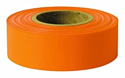 Swanson RFOR2600 2-Inch by 600-Feet Taffeta Roll Flagging, Orange