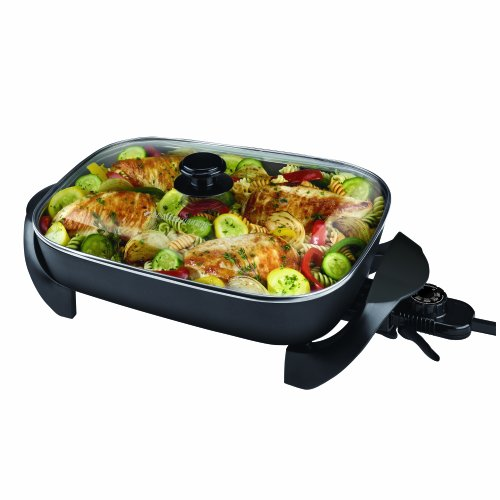 Best Deals! Black & Decker SK1215BC Family Sized Electric Skillet, Black