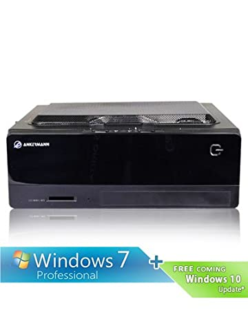 Ankermann-PC Salamander, Intel G3220 2x 3.00 GHz, onBoard Graphic VGA Adapter, 8 GB DDR3 RAM, Kingston SSDNow 120GB, DVD Writer, Windows 7 Professional 64 Bit, EAN 3N-Q4U6-LVXM