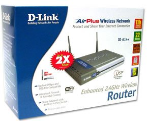 D-Link DWL-1000AP 11Mb Wireless LAN Access Point 802.11b