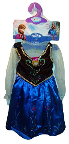Disney Frozen Anna Dress Costume Wig Small 4 5 6 6x Petticoat Vest