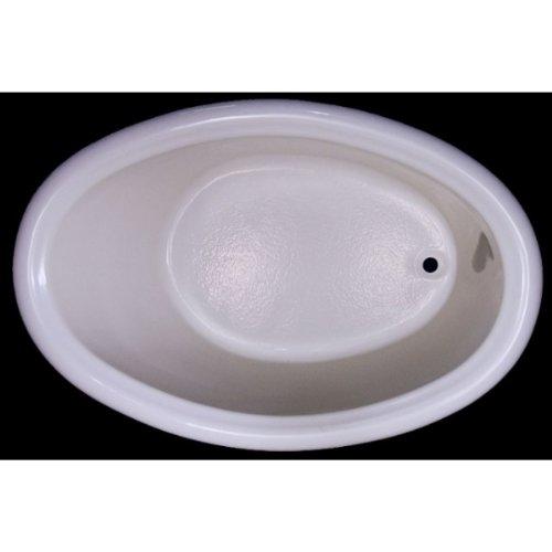 Carver Tubs DJO5839 58 inch x 39 inch Oval Bathtub Soaker Series