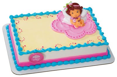 Buy Strawberry Shortcake Berry Sweet Baby Cake Topper