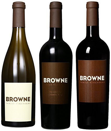 Browne Family Vineyards Family Dinner Mixed Pack, 3 X 750 Ml