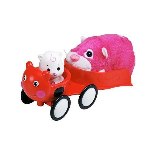 Zhu Zhu Babies Playset Ladybug Stroller Hamster Babies Not Included! - 1