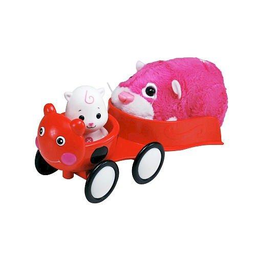Zhu Zhu Babies Playset Ladybug Stroller Hamster Babies Not Included!