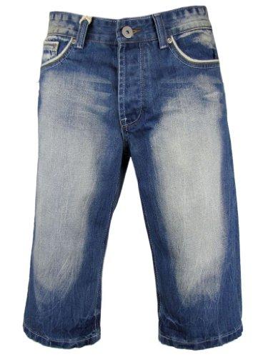 Mens Denim Jean Short 5 Pocket Western 'Tokyo Laundry'