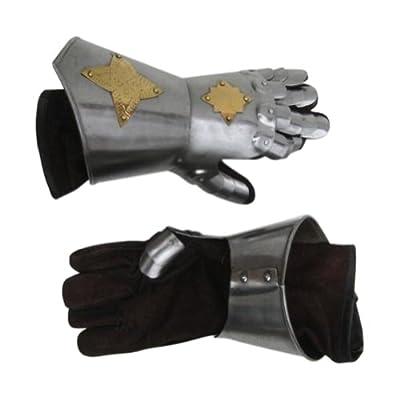 Armor Venue - Medieval Gauntlet Pair - Metallic - One Size