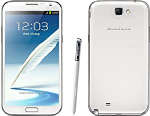 SAMSUNG GALAXY NOTE 2 II i317 UNLOCKED AT&T World Phone (WHITE) - 16GB Memory - QUAD CORE Processor - No Contract - ONE YEAR US WARRANTY