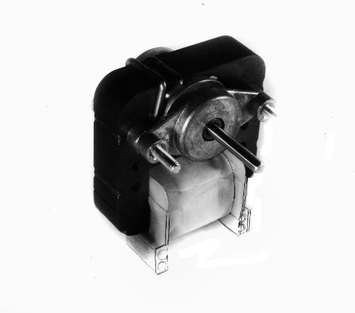 Fasco K130 C Frame Open K Line Shaded Pole Oem Replacement Electric Motor With Sleeve Bearing, 1/150Hp, 3000Rpm, 115Vac, 60Hz, 0.47 Amps, For Vent Fan