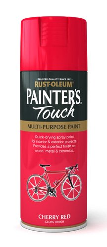 Rust-Oleum 400ml Painters' Touch Spray Paint - Cherry red