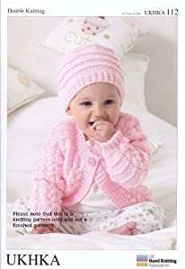 Double Knitting DK Pattern for Long Short Sleeved Baby Cardigans Hat ...