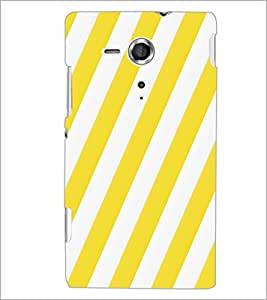 PrintDhaba Pattern D-5408 Back Case Cover for SONY XPERIA SP (Multi-Coloured)