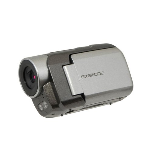 【Amazonの商品情報へ】EXEMODE IRナイトモード搭載300万画素ハイビジョンカムコーダー シルバー DV330 SV