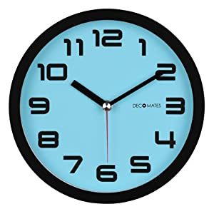 Decomates Non Ticking Silent Wall Clock