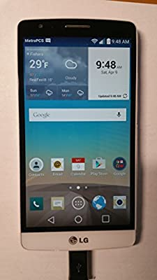 LG G3 Vigor D725 8GB Unlocked GSM 4G LTE Quad-Core Android 4.4 Smartphone w/ 8MP Camera
