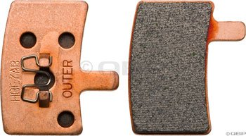 Buy Low Price Hayes HB Stroker Trail/CarbonBrake Pads (98-22041)